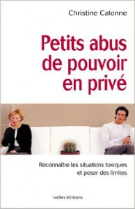 CALONNE Christine - Petis abus de pouvoir en privé